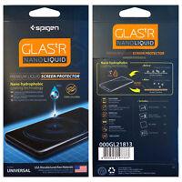 Spigen Glas.tR Nano Liquid Screen Protector Clear Fits iPhone Samsung Universal