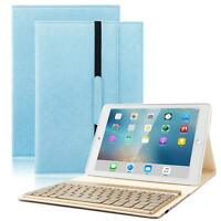 Slim Leather Case Backlit Keyboard Business Skin For iPad 9.7 2017/2018 5/6 Gen