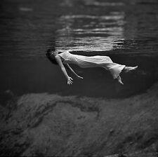 A3 SIZE - Weeki Wachee Spring Photo Toni Frissell Vintage Black & White Poster