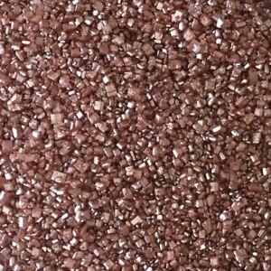 25g Edible Bronze Glimmer Glitter Sanding Sugar Cake Sprinkles Decorations