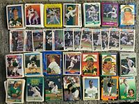 1,575 + Different Oakland A's Baseball Cards 1970s-2000s Henderson Rookie Stars