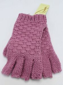 New Collection 18 Double Knit Stitch Solid Fingerless Gloves (11 colors) #FG19