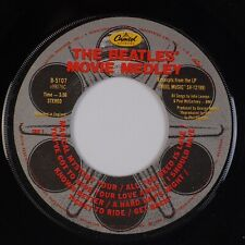"BEATLES: Movie Medley, Magical Mystery Tour etc. US Capitol B-5107 Orig 7"" 45 NM"
