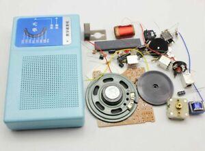 Superheterodyne Radio Receiver 7 Transistor DIY Kits Schematic and Case Speaker