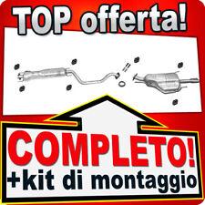 Scarico Completo OPEL ZAFIRA A 2.0 OPC Marmitta X33