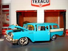 1957 CHEVROLET 150 2 DOOR WAGON LIMITED EDITION 1/64 FUEL INJECTED CRUISER