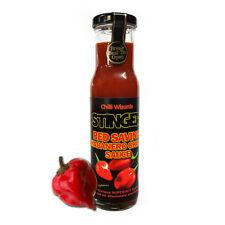 Salsa di peperoncino-Stinger Red SAVINA HABANERO Super Sexy Salsa-Nuovo Grande 250 ML