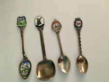 4 Collector Spoons-People's Republic of China, Canada, Norge,& Czechoslavakia