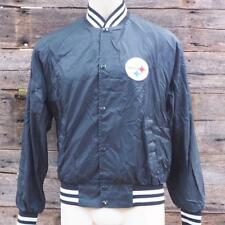 Vintage Pittsburgh Steelers Nfl Football Jacket Size Youth Xl or Mens M