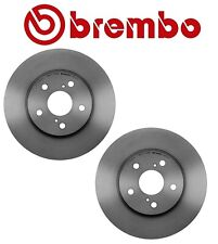 For Lexus IS250 Pair Set of 2 Front Disc Brake Rotors Coated Brembo 43512 08030