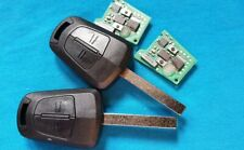 2 VAUXHALL OPEL ASTRA H ZAFIRA B 2 BUTTON COMPLETE KEY 433.92MHz REMOTE FOBS