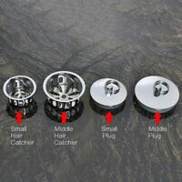 Chrome Replacement Bath Plug Sink Hair Catcher Bathtub Drain Stopper Home Decor