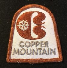 COPPER MOUNTAIN Skiing Ski Patch Colorado CO Resort Souvenir Travel