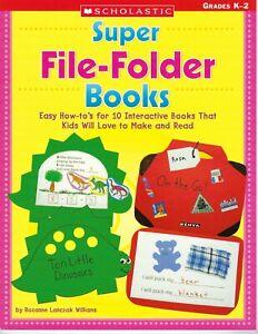 Super File-Folder Books by Rozanne Lanczak Williams