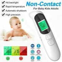 IR Infrared Digital Forehead Fever Thermometer Non-Contact Baby & Adult Body UK