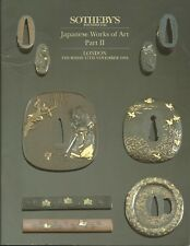 SOTHEBY'S Japanese Sword Fittings Tsuba Fuchi-Kashira Kozuka Netsuke Catalog 94