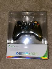 New Sealed XBOX 360 Wireless Controller Chrome Series GOLD Special Edition