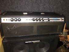 Vintage  Fender Bassman 100 Silverface Bass Amp Head! 100 Watts! Master Volume