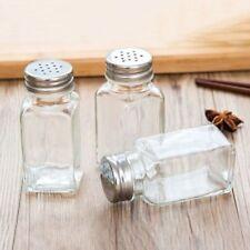 Glass Condiment Shaker Seasoning Cans Salt Bottle Spice Jar Pepper Cruet