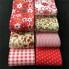 30PCS 5x50cm Fabric Bundle Stash Cotton Patchwork Sewing Quilting Tissue Cloth