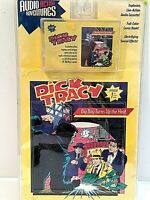 """Vintage Disney """"Dick Tracy Action Audio Adventures, Brand New, Factory Sealed"""