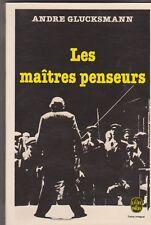 André Glucksman - Les maîtres penseurs - 1979 poche .