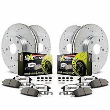 Power Stop Z26 Street Warrior Front&Rear Brake Kit For 15-17 Mustang GT K6805-26