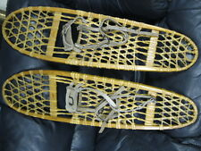 Antique Wood and Rawhide SnowShoes