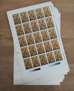 1991 Rumänien; 1000 Einzelwerte Weihnachten, postfrisch/MNH, MiNr 4760, ME 800,-