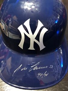 JOSE CANSECO AUTOGRAPHED SIGNED INSCRIBED NEW YORK YANKEES REPLICA HELMET w/COA