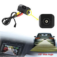 3in1 Car Parking Reversing Radar Sensors Rear View Backup 170° Camera Universal