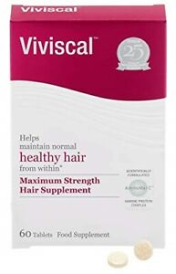 Viviscal Maximum Strength Hair Growth Supplement 60 Tablets (With Box)