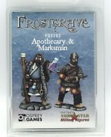 Frostgrave FGV203 Apothecary and Marksman (Specialists) Alchemist & Crossbowman