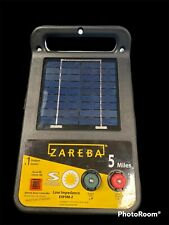 New Listingzareba Esp5m Z 5 Mile Solar Low Impedance Electric Fence Charger