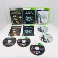 Dead Space 1 2 & 3 XBOX 360 Trilogy Games Lot Xbox 360 Kinect Shooter X3