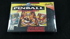 Super Pinball: Behind the Mask **SNES**USED**