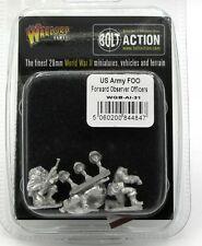 Bolt Action WGB-AI-31 US Army FOO Forward Observer Officers (WWII) Warlord Games