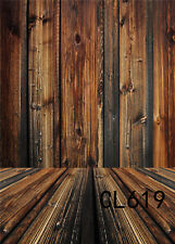 Photography Backdrop Retro Wood Wall Polyester Photo Background Seamless 6X9FT