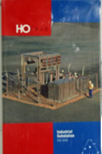 HO Walthers Industrial Power Station -- RESIN AND PLASTIC KIT -- NEW IN BOX