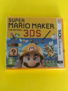 Super Mario Maker (Nintendo 3DS, 2016) New Sealed