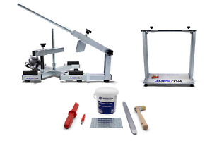 Reifenmontiermaschine EVOX, Wuchtbock, Starterpaket grau - max2h.com