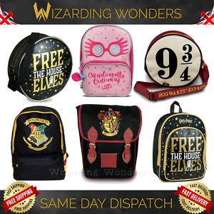 Harry Potter Backpack Rucksack School Bag Purse Tote Gryffindor Official Gift UK