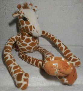 "FAO Swartz Giraffe Plush Toys R Us Stuffed Animal Doll 19.5"""
