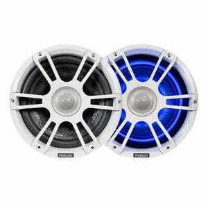 Fusion Signature Series 8.8 Speakers Pair White LED