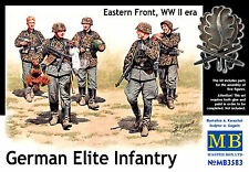 MASTERBOX GERMAN ELITE INFANTRY EASTERN FRONT WWII Scala 1:35 cod.3583