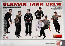 MiniArt Models 1/35 German Tank Crew