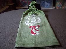Western Cactus Crochet Top Kitchen Towel
