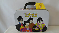 "The Beatles 1999 Vandor Yellow Submarine ""The Band"" Tin Tote or Lunch Pail #B790"