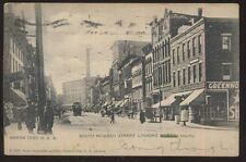 Postcard AKRON Ohio/OH  South Howard Street Business Storefronts view 1905