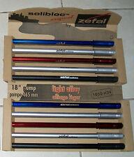 Sale!!! Zefal Solibloc alloy Frame pumps in display carton lot Nos (10 pumps)